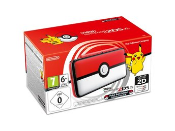 New Nintendo 2DS XL - Ltd Pokeball edition