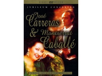 Carreras J / M Caballe: Jubileum concerts (2 DVD)