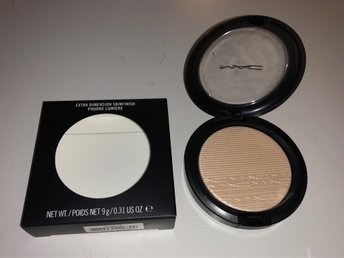 Mac Extra dimension skin finish highlighter #Double Gleam OANVÄNT