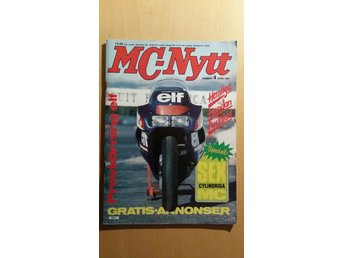 MC-Nytt nr 4 1984: Sexcylindriga MC