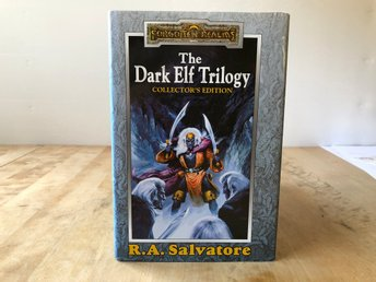 The Dark Elf Trilogy Collectors edition - RA Salvatore - Forgotten Realms - 1998