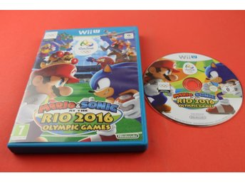 MARIO & SONIC AT THE OLYMPIC GAMES RIO till Nintendo Wii U
