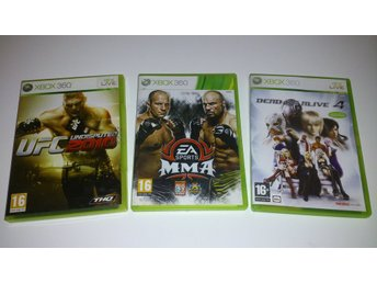 - 3-Pack Fighting Spel XBOX360 -