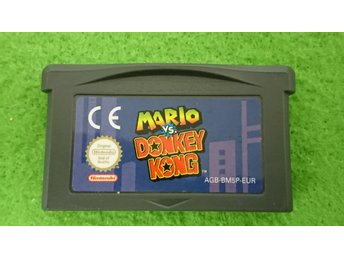 Mario Vs Donkey Kong Gameboy Advance Nintendo GBA