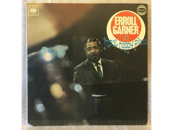 ERROLL GARNER / most happy piano -- CBS/Realm 52065, UK 1972