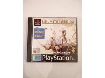 Final Fantasy Anthology European Edition (IV & V) komplett Playstation