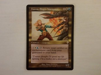 Hanna, Ship's Navigator - Magic the Gathering - Rare