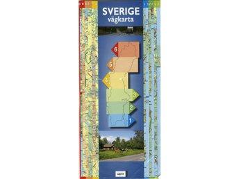 Karta Sverige Lansgranser.Sverige Skrapkarta 9789984076966 315777245 ᐈ Paneter Pa Tradera