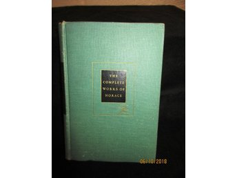 The complete works of Horace 1936