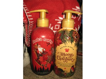 Tvål m pump 2 x 350ml !! JUL christmas  soap tvål