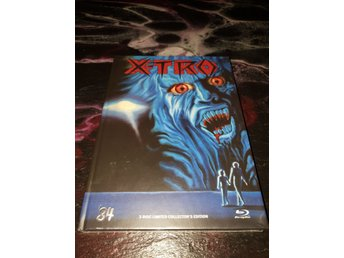 X-TRO  LIMITERAD MEDIABOOK BLU-RAY  84 ENTERTAINMENT L