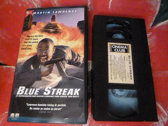 BLUE STREAK, VHS, ACTION FILM, 90 MIN.