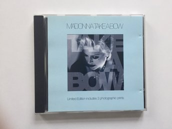 MADONNA – Take A Bow (Limited edition med tre fotografier)