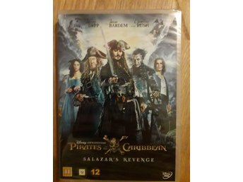 Ny DVD Pirates of the Caribbean Salazar's revenge Johnny Depp  NY INPLASTAD!
