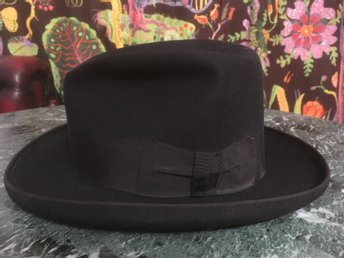 "Vintage Dobbs Fift Avenue New York ""Lee"" Hatt 7 1/8 57cm 40-tal"