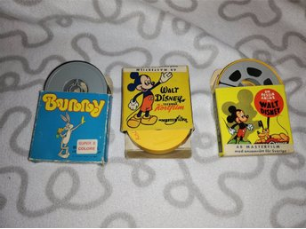 3 ST 8 MM RULLAR WALT DISNEY