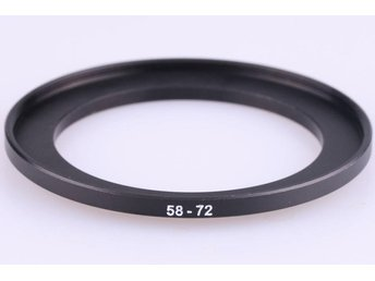 Step Up Ring 58 - 72 mm