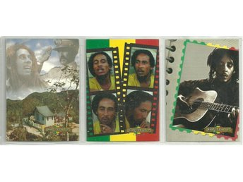 3 BOB MARLEY LEGEND KORT - SET NR 1