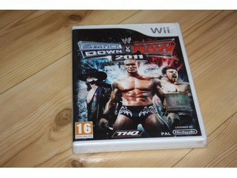 SMACKDOWN VS RAW 2011 WII/WIIU  NYTT