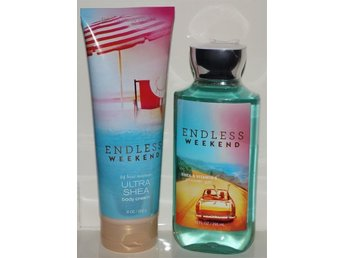 Bath & Body Works ENDLESS WEEKEND Body Cream 226ml & Shower Gel 295ml mysig doft - Torsås - Bath & Body Works ENDLESS WEEKEND Body Cream 226ml & Shower Gel 295ml mysig doft - Torsås