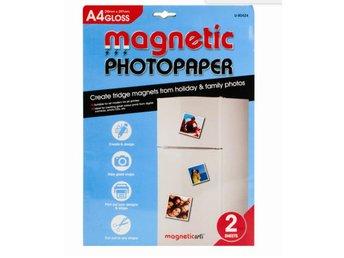 A4 magnetiskt fotopapper blank - 2st ark - Markaryd - A4 magnetiskt fotopapper blank - 2st ark - Markaryd