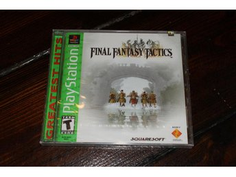 PS1 - Final Fantasy Tactics (Greatest Hits) (NTSC) /NYTT