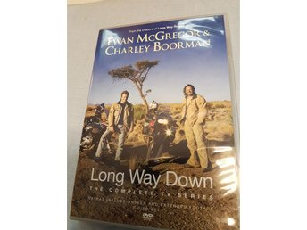 Long Way Down dvd/2 med Ewan McGregor & Charley Boorman