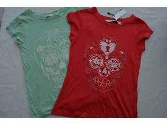 2 st toppar /t-shirts med tryck - Lager157 , storlek: 140 - Eskilstuna - 2 st toppar /t-shirts med tryck - Lager157 , storlek: 140 - Eskilstuna