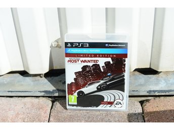 Playstation 3 PS3 NFS Need for speed Most wanted Limited ed.