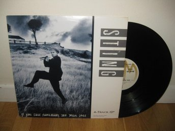 "STING - If you love somebody set them free 12"" maxi 1985"