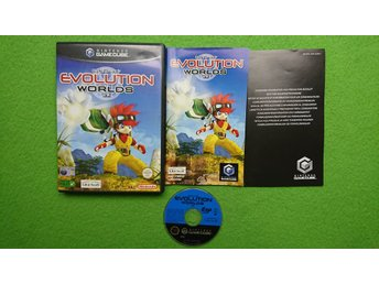 Evolution Worlds KOMPLETT Gamecube Nintendo Game Cube