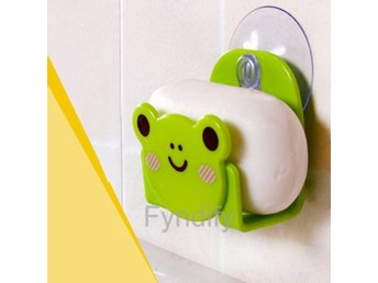 Carton Dish Cloth Sponge Holder with Suction Cup Grön