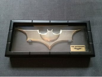 Batman Batarang Noble collection dark knight