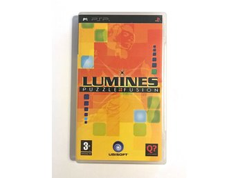 Lumines: Puzzle Fusion – spel till Playstation Portable, PSP