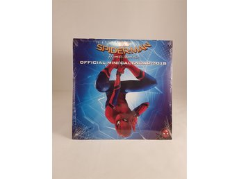 Spindelmannen (Spiderman) Kalender 2018