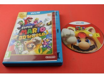 SUPER MARIO 3D WORLD till Nintendo Wii U