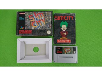Sim City KOMPLETT Super Nintendo Snes