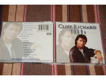 Cliff Richard. 1980s. EMI.