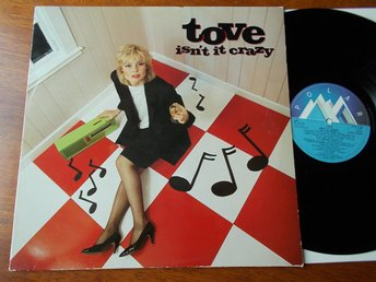 TOVE NAESS - Isn't it crazy, LP Polar 1983