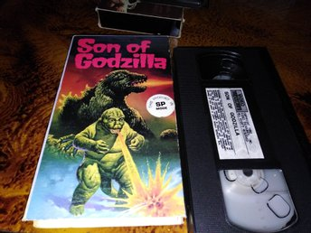 Son of Godzilla (1967) Usa import Hyr Rental