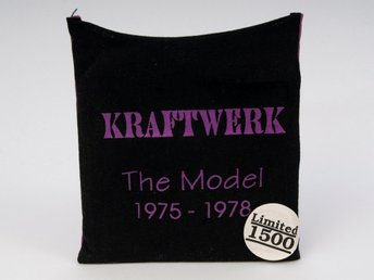 Kraftwerk: The Model 1975-1978, CD, (CLEO57612) 1992 i tygpåse med foto