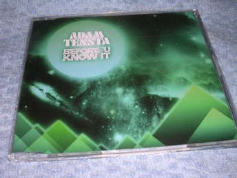 Adam Tensta - Before U Know It (CD-singel) 2 trk 2008 NM/NM