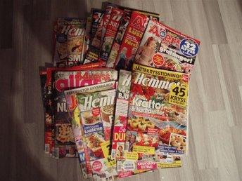 23 ST VECKOTIDNINGAR 2013-2015,Hemmets Veckotidning,Allas,Allers,Hemmets Journal - Bettna - 23 ST VECKOTIDNINGAR 2013-2015,Hemmets Veckotidning,Allas,Allers,Hemmets Journal - Bettna