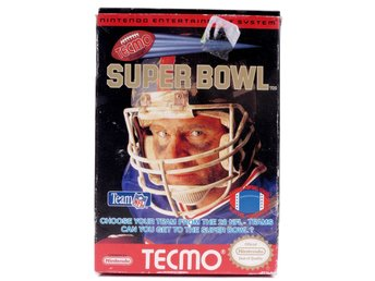 Tecmo Super Bowl - Nintendo NES - NTSC (USA)