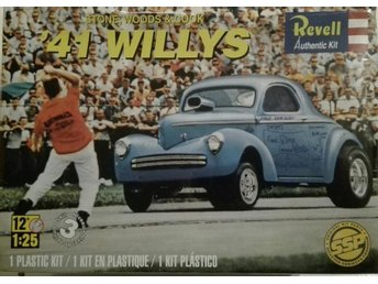 Willys -41.Stone,Woods & Cook. Revell 1/25.