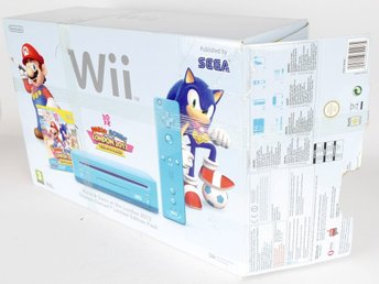 Nintendo Wii Mario & Sonic at the London 2012 Olympic Games Limited Edition Blue