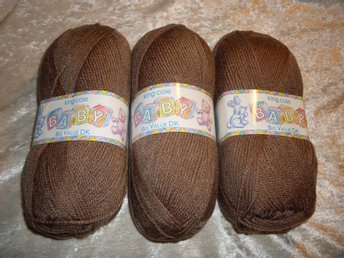 King Cole Baby Big Value DK camel 300g