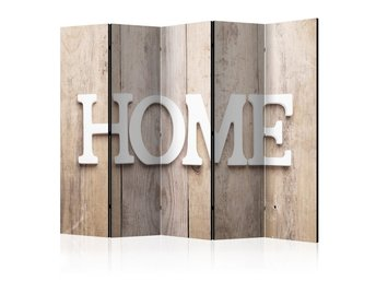 Rumsavdelare - Room divider – Home on wooden boards 225x172