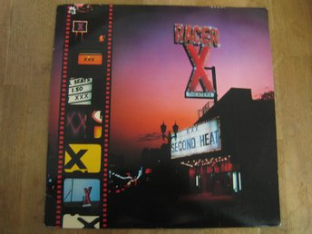 Racer X-Second Heat (LP)