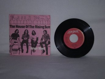 Frijid pink - House of the Rising Sun            fint EX!!